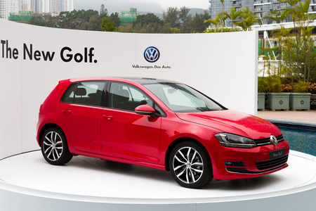 media event: Volkswagen Golf VII 2013 Model in media event