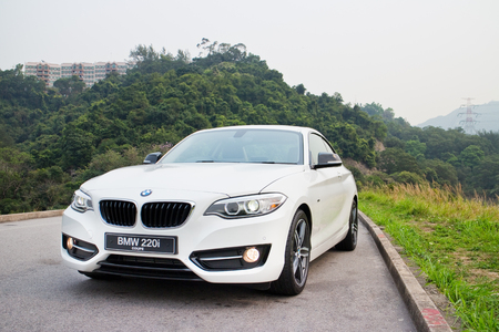 BMW 220i 2014 Sedan, all new series, small sedan