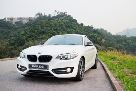 BMW 220i 2014 Sedan, all new series, small sedan