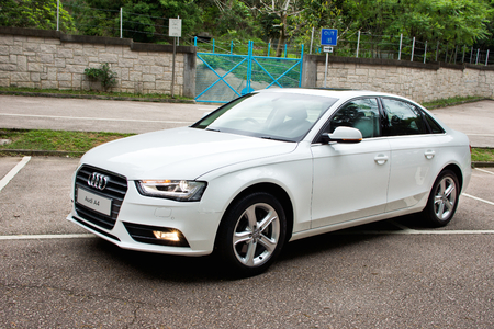 Audi A4 2012 sedan. This is basic mode, no extra option.