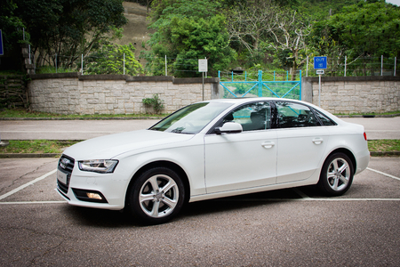 Audi A4 2012 sedan. This is basic mode, no extra option. Editorial