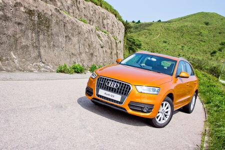 アウディ Q3 2.0 SUV 2012。小さなサイズでアウディ SUV。クワトロ 4 ホイールの技術を使用します。 報道画像