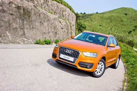 Audi Q3 2.0 SUV 2012. Small size SUV in Audi. Used Quattro 4-wheel technology.