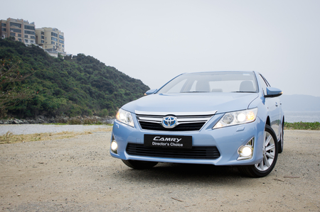 Toyota Camry Hybrid 2012. Toyota use hybrid in camry sedan.