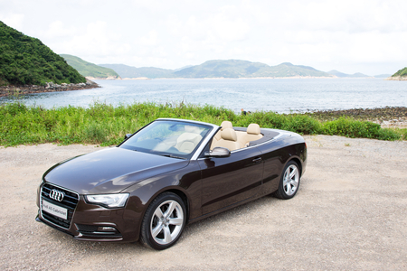 Audi A5 Cabriolet 2012 20t Quattro Model Stock Photo Picture And