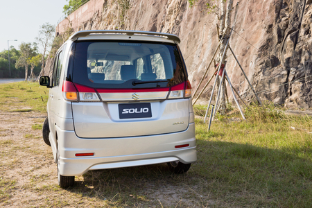 mpv: Suzuki Solio 2012, small Japan MPV.