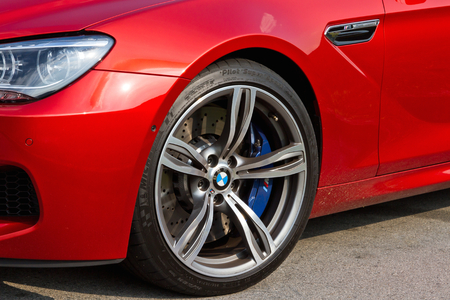 coupe: BMW M6 Coupe 2012, high performance coupe.