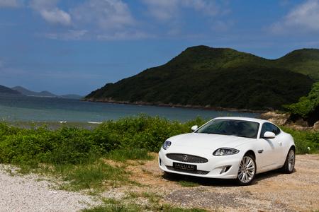 alto rendimiento: Jaguar XK 2012. S�per alta coup� de rendimiento. Hecho en Reino Unido.