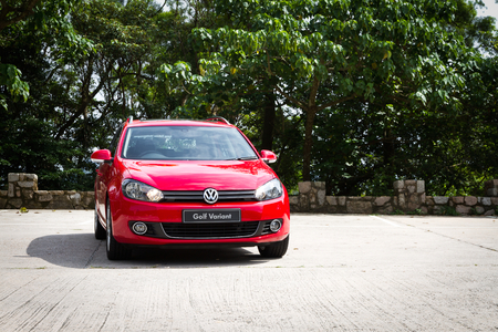 avant: Volkswagen Golf Variant 2012. This is basic model in euro avant car. Editorial
