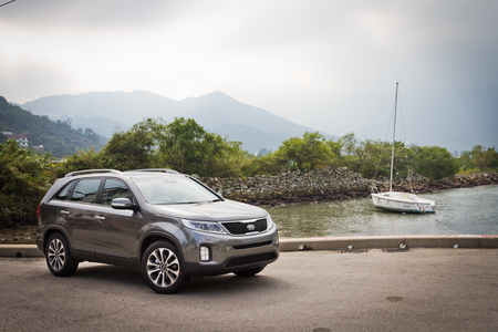 KIA Sorento SUV 2012, off road and SUV car.