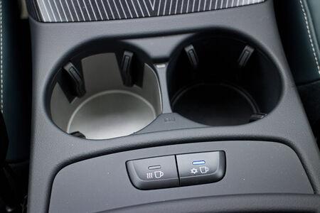 alto rendimiento: Audi SQ5 Alto Rendimiento HatchBack coches, 2014 Modelo Foto de archivo
