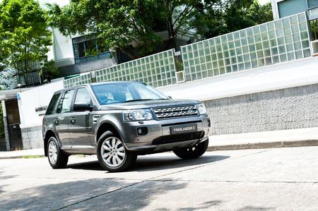 mpv: Land Rover Freelander 2 display in Hong Kong 2011