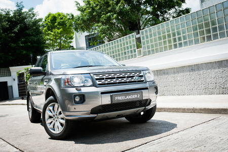 Land Rover Freelander 2 display in Hong Kong 2011
