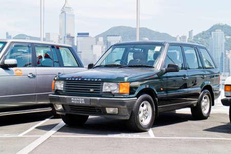 test drive: Hong Kong, China July 28 2015 : Range Rover 2nd Generation Test Drive Day on July 28 2015 in Hong Kong.