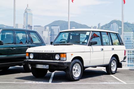 test drive: Hong Kong, China July 28 2015 : Range Rover 2015 Test Drive Day on July 28 2015 in Hong Kong. Editorial