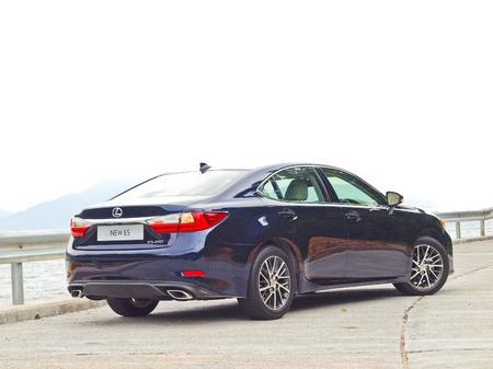 lexus: Hong Kong, China Sept 11 2015 : Lexus ES 250 2015 Test Drive Day on Sept 11 2015 in Hong Kong.