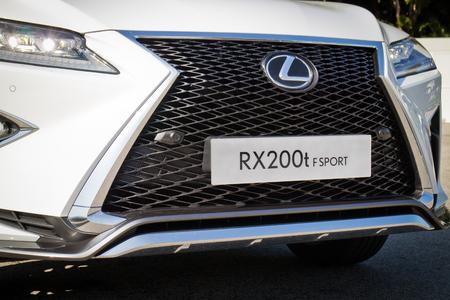 lexus: Hong Kong, China Jan 25, 2016 : Lexus RX 200t F Sport 2016 Test Drive Day on Jan 25 2016 in Hong Kong.