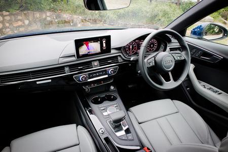 Hong Kong China Oct 26 2016 Audi A4 Avant 45 Tfsi Quattro
