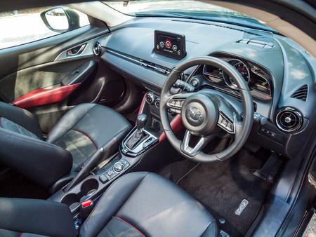 Hong Kong, China Feb 9, 2017 : Mazda CX-3 2017 Test Drive Day  on Feb 9 2017 in Hong Kong.