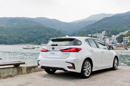 Hong Kong, China Sept 20, 2017 : Lexus CT200h 2017 Test Drive Day Sept 20 2017 in Hong Kong.