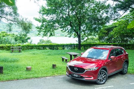 Hong Kong, China June 27, 2017 : Mazda CX-5 2017 Test Drive Day Test Drive Day June 27 2017 in Hong Kong. Editorial
