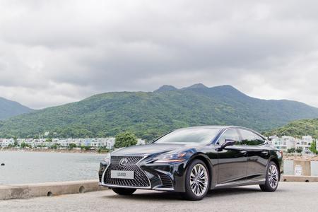 Hong Kong, China July 19, 2018 : Lexus LS500 2018 Test Drive Day July 19 2018 in Hong Kong.