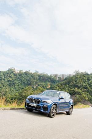 Hong Kong, China Dec 31, 2018 : BMW X5 2018 Test Drive Day Dec 31 2018 in Hong Kong.