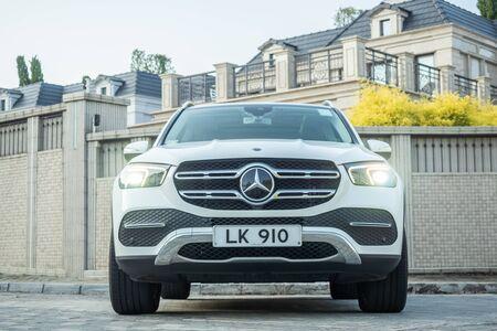 Hong Kong, China Oct, 2019 : Mercedes-Benz GLE Test Drive Day on Oct 15 2019 in Hong Kong.