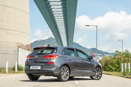Hong Kong, China May, 2019 : Hyundai i30 Test Drive Day on May 31 2019 in Hong Kong.
