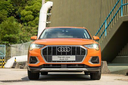 Hong Kong, China Oct, 2019 : Audi Q3 Test Drive Day on Oct 21 2019 in Hong Kong. Redakční