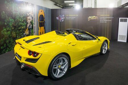 Hong Kong, China Dec, 2019 : Ferrari F8 Tributo Test Drive Day on Dec 1 2019 in Hong Kong. Redakční