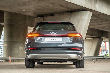 Hong Kong, China Sept, 2019 : Audi e-tron Test Drive Day on Sept 25 2019 in Hong Kong.