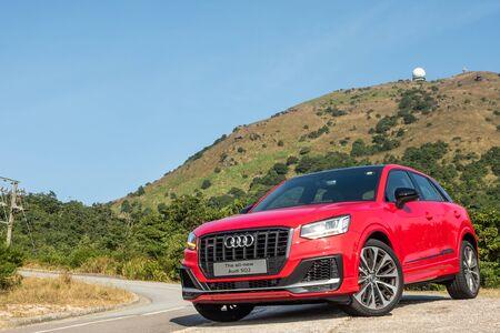 Hong Kong, China Nov, 2019 : Audi S2 Test Drive Day on Nov 7 2019 in Hong Kong.