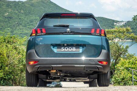 Hong Kong, China July, 2019 : Peugeot 5008 Test Drive Day on Sept 11 2019 in Hong Kong. Redakční