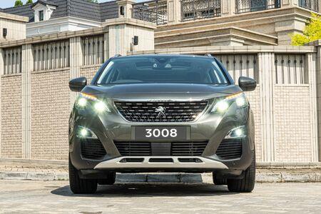 Hong Kong, China July, 2019 : Peugeot 3008 Test Drive Day on Sept 11 2019 in Hong Kong. Redakční