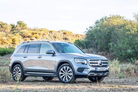 Andalusia, Spain Dec, 2019 : Mercedes-Benz GLB Test Drive Day on Dec 3 2019 in Spain Redakční