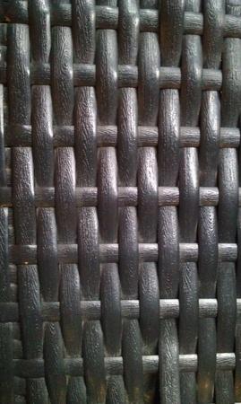 weave: Rustic metal weave Stock Photo