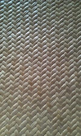 woven: Woven bamboo pattern Stock Photo