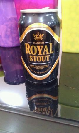 cerveza negra: Dan�s stout real