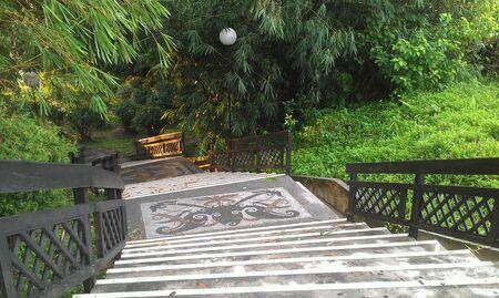 taman: Taman awam Miri stairway