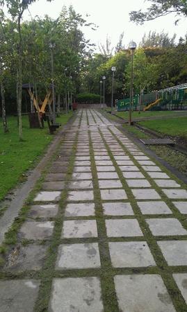 taman: Taman awam Miri jogging track Stock Photo