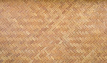 Bamboo woven matt closeup Reklamní fotografie