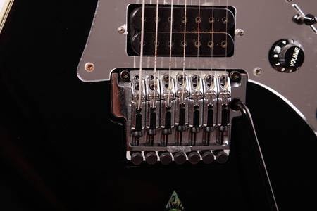 tremolo: chitarra elettrica Archivio Fotografico
