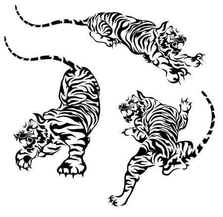 tiger illustratie