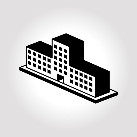 office building: Building icons illustration. Hotel icon illustration. Office icon illustrations. Illustration