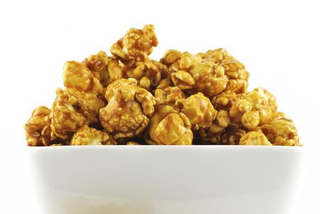 karamel popcorn  Stockfoto