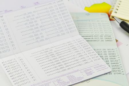 passbook graph and finance