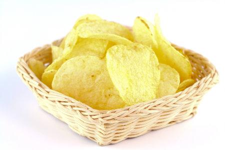 potato chips Standard-Bild