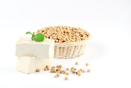 tofu en sojabonen