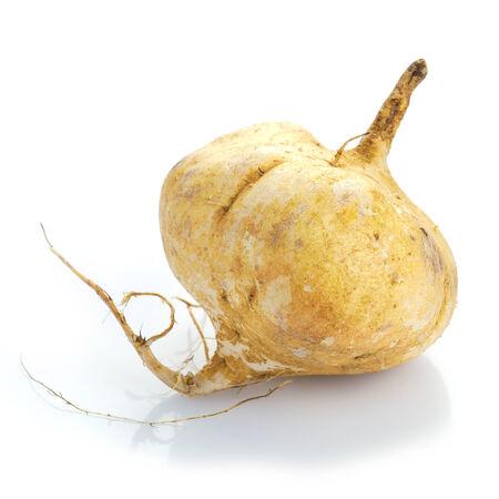 tuberous: Fresh jicama